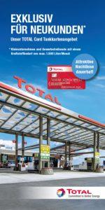 Flyer Total Tankkarte Gewerbetreibende Aspach